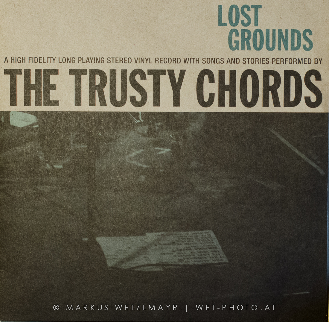 "THE TRUSTY CHORDS - ""Lost Grounds"" cover"