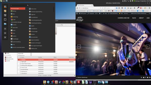 Linux Mint 17.2 mit diversen Anpassungen