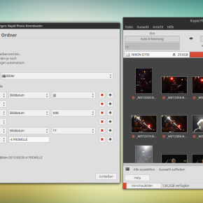 Rapid Photo Downloader – DER Importkönig unter Linux
